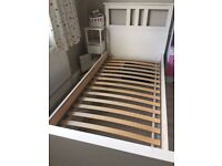 Single bed / White stain (IKEA)