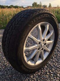 Mercedes 18 inch Alloy Wheels with Vredestein Winter Tyres x4