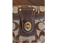 Designer COACH purse clutch bag - VGC