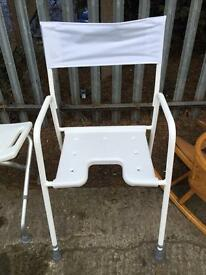 Mobility shower stool