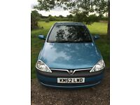 2002 Vauxhall Corsa 1.2 Elegance For Sale