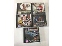 Various PS1 games.
