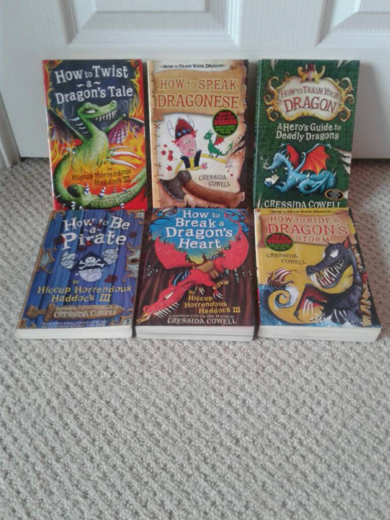 Cressida Cowell 'How to' books, assorted.