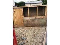 Dog kennel / chicken pen 8x4