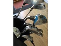 Golf clubs as new Dunlop full set with bag & stand golf covers .