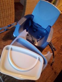 Childs booster seat for table