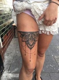 Mandala and dotwork tattoos!