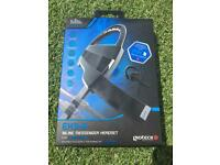 PS4 inline messenger headset