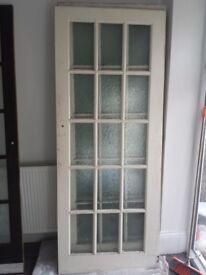 15 Panel door solid wood