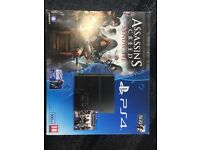 *NEW IN BOX* PS4 with assassins creed syndicate and watch dogs