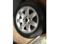 Spare wheel and tyre 205 55 16