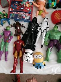 Marvel spider man hulk etc bundle