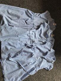 3 gingham dresses 6-7