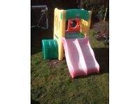 Little tikes twin slide and climbing frame