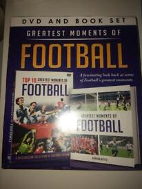 FOOTBALL DVD AND BOOK SET
