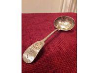 Nevada Silver Daniel & Arter Antique Vintage Silver Plated Spoon
