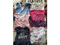 Girls tshirts 12-18months
