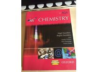 AS Chemistry for AQA Nigel & Angela Saunders in Excellent Condition