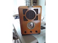 Reproduction retro bush radio