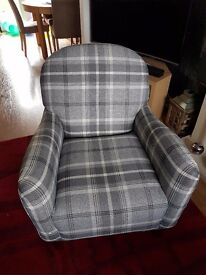 BRAND NEW pair of grey Lousanne armchairs