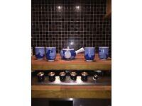 Bone china, japanese tea set
