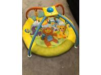 Jungle animal play mat & arch