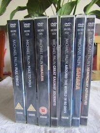 Michael Palin various adventures (7 DVD sets in total)