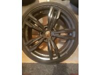 Set of 4*19 inch Staggered alloys WITH tyres