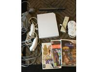 Nintendo Wii Games Console leads Controllers Video Games