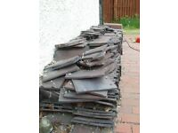roof tiles full set 600 plus with tops collection only bargain at £45