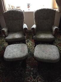 Rocking armchairs