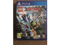 Lego ninjago movie ps4 game mint