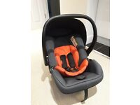Phil and Teds Alpha car seat with Isofix base, £60, used, very good condition