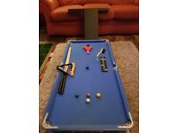 Pool Table for Children (& Dads)
