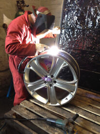 ALLOY WHEEL REPAIR,CRACKED OR SPLIT ALLOYS REPAIRED,ALUMINIUM WELDING SPECIALIST,TRADE WELCOME