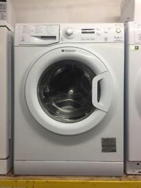 Hotpoint white good looking 9kg 1400spin A+ washing machine