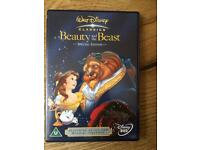 Disney DVD- beauty and the beast (special edition)