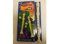 """Recorder and """"Easy to Learn""""book"""