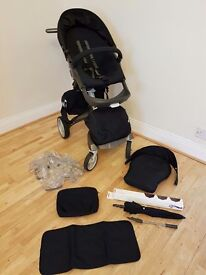 Stokke Xplory Carrycot and Pushchair V3