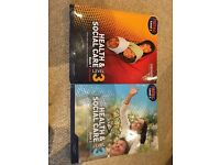 Health and social care text books 1 & 2