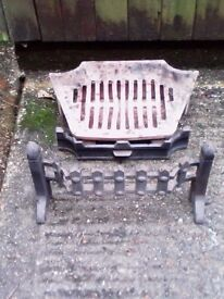 fire grate etc removed to make way for woodburner no longer required