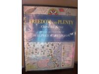 FREEDOM AND PLENTY OF OURS TO SAVE - AMERICA BOOK