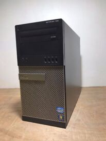 Dell Optiplex 390 Windows 7 Tower, Intel Core i7 2600 3.4GHz, 8GB, 1TB HDD