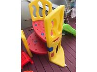 Little tikes climbing slide