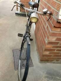 Vintage rod brake bicycle