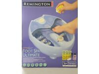 Remington Foot Spa Ultimate Aromatherapy (Boxed)