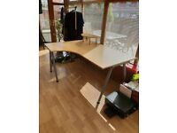 Office work / printer desk 160 x 120 very sturdy, excellent condition