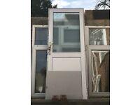 Upvc window and door. £40