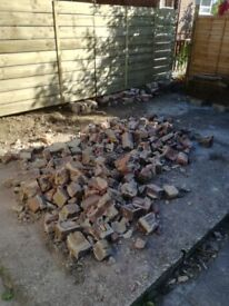 Rubble - Free pieces of brick
