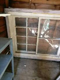 Old sash window, collection only
